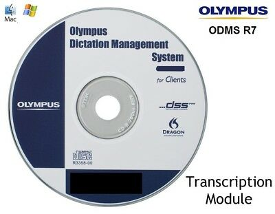 Olympus (ODMS) Dictation Management System R7 - Transcription Module & License