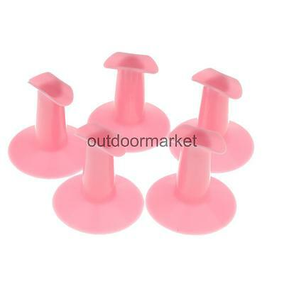 5Pcs Plastic Finger Stand Support Rest Holder Nail Art Painting Manicure Tool