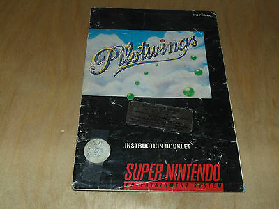 Pilotwings (Super Nintendo Entertainment System, 1991) SNES MANUAL ONLY
