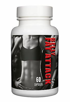 Belly Fat Attack Extreme Fat Burner 60 Capsules Strongest Diet Weight Loss Pills