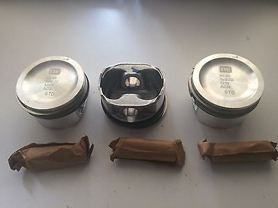 SMART CAR 700cc  SET OF 3 STD SIZE PISTONS,WITH 16MM  PRESS FIT PIN.