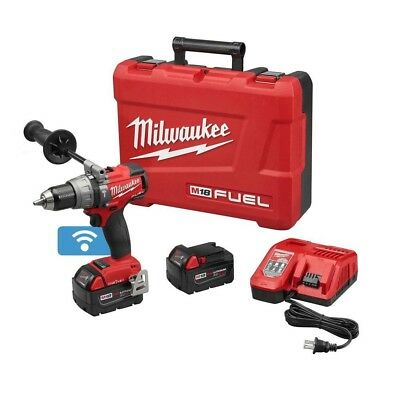 """Milwaukee 2706-22 M18 FUEL™ 1/2"""" Hammer Drill/Driver with ONE-KEY™ Kit"""