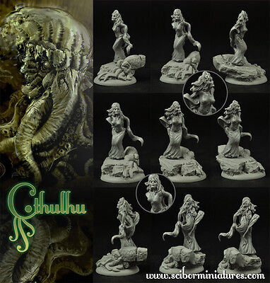 Cthulhu Cultist 3 (28mm scale) - Scibor Miniatures