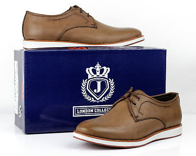 Mens Casual Lace Up Comfort Shoes Smart Office Fashion Formal Size 6 7 8 9 10 11