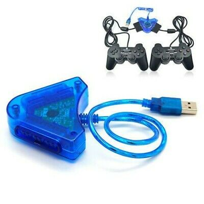 Adattatore Convertitore Joypad Joystick Compatibile Con Ps Ps2 Ps3 Usb Pc