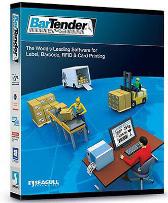 Seagull Scientific, Email Delivery Only, Bartender 10.0 (3-Printer) Enterprise A
