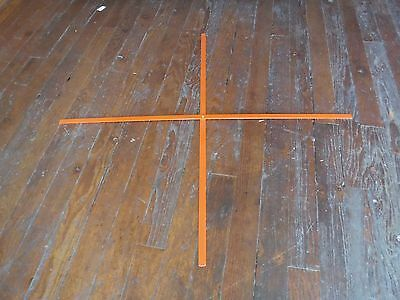 """NEW Replacement  Ribset for 48"""" Roll Up Safety Signs Orange (B70S)"""