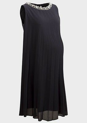 NEW Maternity Dress Black Occasion/Formal Pregnant Women Baby 8/10/12/14/16/UK