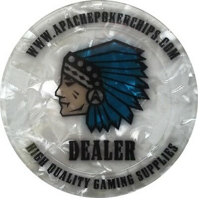 Apache Poker Chips Dealer Button / Jeton