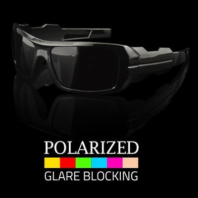 Men Oilrig Sty Wrap POLARIZED Sunglasses Outdoor Sports Driving Glasses Eyewear