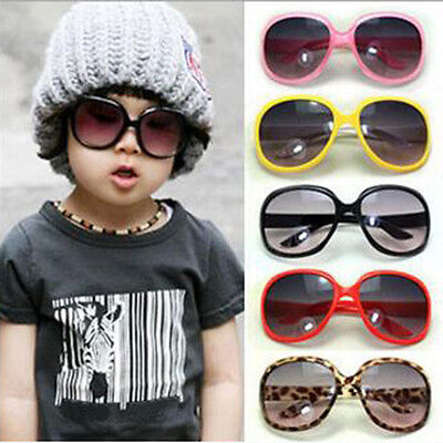 Baby ANTI-UV Glasses Candy Colorful Children Round  Sunglasses Eyewear