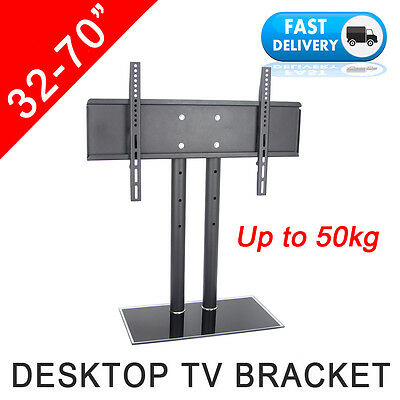 "32-70"" LCD Plasma LED TV Screen Desktop Support Stand Bracket Mount Replacement"
