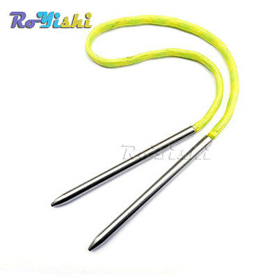 """3""""Steel Paracord Needle With Screw Thread Shaft Tip Stiching Needle Fid"""