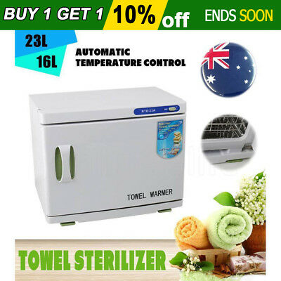 WIKIDEA UV Towel Sterilizer Cabinet Hot Facial Warmer Disinfection Beauty Salon