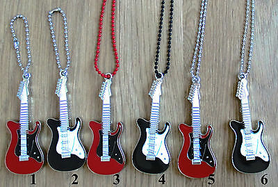 Guitar Shaped 8/16GB USB 2.0 Flash Drive Memory Stick with Ball chain
