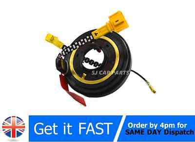 New Spiral Cable Clock Spring Airbag Drivers Slipring VW Golf 1H0959653E