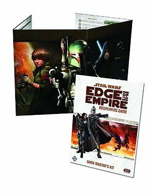 Star Wars RPG Edge of the Empire Game Masters Kit - Brand New!