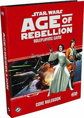 Star Wars RPG Age of Rebellion Core Book - Brand New!