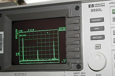 Agilent HP 8590L 9 Khz to 1.8 Ghz Spectrum Analyzer  Tested, Cal. free shipping