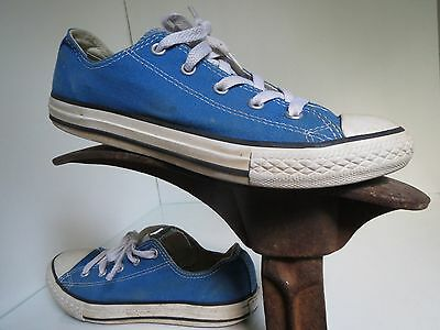 ae50f3f29672 CONVERSE ALL STAR Sneakers Shoes Ocean Blue Laces Chuck Unisex Youth ...