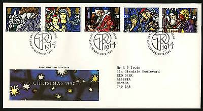Great Britain 1992  Scott # 1469-1472  FDC