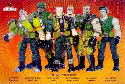 "Small Soldiers (1998) POSTER 12""x17"" American Sci-Fi Action Toys Movie Commando"