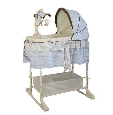 Brand New Baby Infant Rocking Bassinet Cot Bed