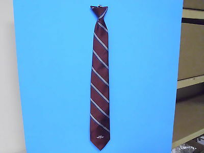 Discontinued Toronto Transit Commission Ttc Operators Clip On Tie 22 Inches