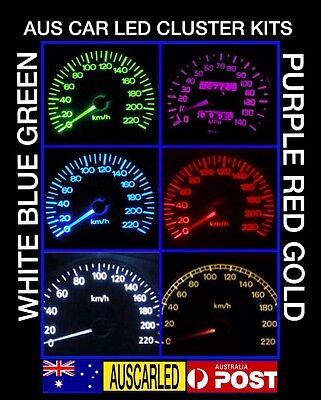 Holden Commodore VT VX Bright pink LED Dash Cluster Light Kit single LCD screen