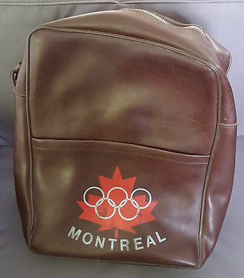 Besace Vintage Jeux Olympiques Montreal   /1107