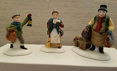 Dept 56 Dickens Village accessory Come Into the Inn Retired MIB NOS 55603