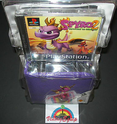 Spyro 2 Gateway To Glimmer Pack Sony Ps1 Playstation Pal Game New Factory Sealed
