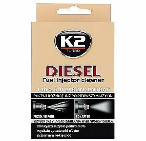 Diesel Fuel Injector Cleaner Protects Fuel System All Engines K2