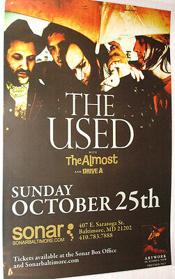 The Used Poster - Concert .. Artwork Lies for Liars