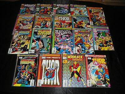 Blood And Thunder 1 - 13 Warlock & The Infinity Watch 23 24 25  Chronicles 1 - 8