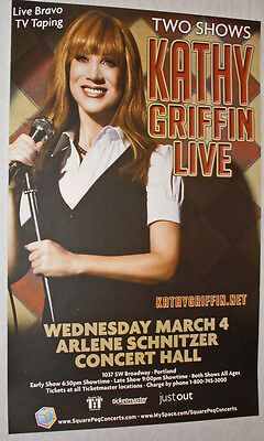 Kathy Griffin Show Poster ..  My Life on D List