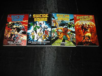 Suicide Squad Vol 1  2  3 Trial By Fire  Nightshade  Rogues  Raise The Flag Tpb