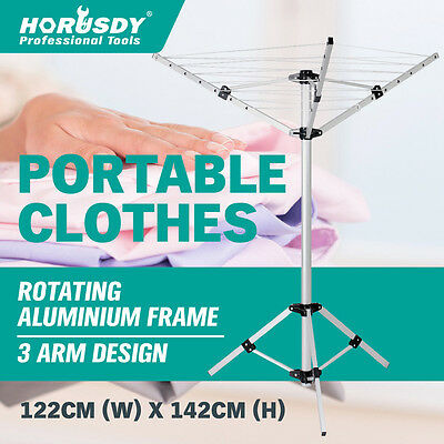 Portable Clothes Dryer Airer Foldable Coat Rack Camping Clothesline Hanger New