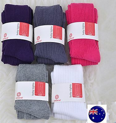 Girl Baby Kid Cotton Mix Warm Striped Bottoms Pants Tights Leggings Stocking