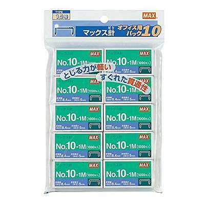 10 pieces No. 10 No.10-1M Max staples (japan import), New, Free Shipping