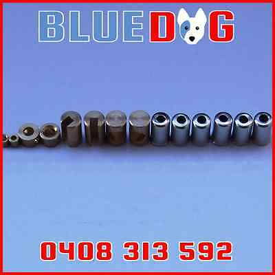 Motorbike Cable Ends Assorted Throttle Nipples Solder Type 14 pieces