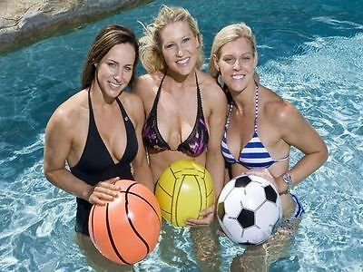pool toy beach ball 40cm soccer basketball volleyball buy 1 get 1 free