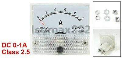 1A Analog Panel AMP Current Meter Ammeter Gauge 85C1
