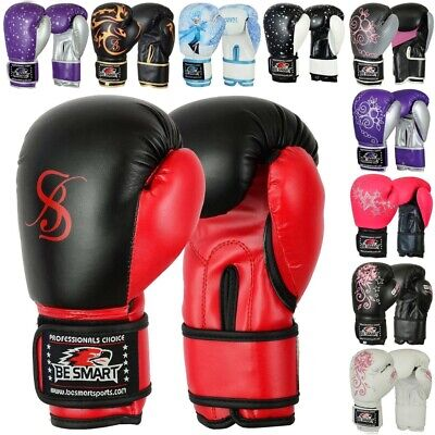 4oz 6oz 8oz Kids Boxing Gloves Junior Mitts PunchBag Children Gel Pad Glove