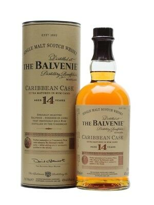 Balvenie 14yo Caribbean Cask Single Malt Whisky 700ml