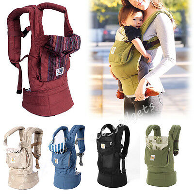 Ergonomic Infant Newborn Baby Todler Adjustable Wrap Sling Backpack Carrier Babe