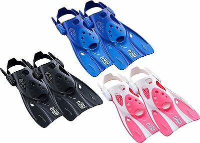 Tusa Snorkel Fins Flippers with Strap - Short Blade Designed for Easy Travelling