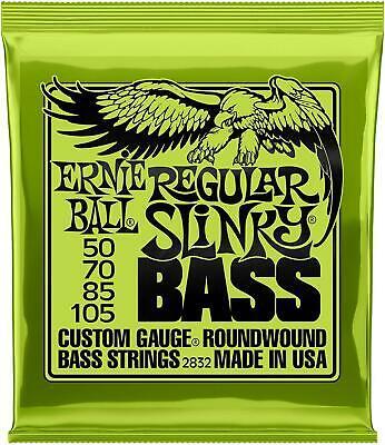 Ernie Ball 2832 Regular Slinky Roundwound Bass Guitar Strings 50 - 105