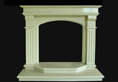 Camino Marmo Interior Classic Design Marble Old Fireplace Stile Classico Impero