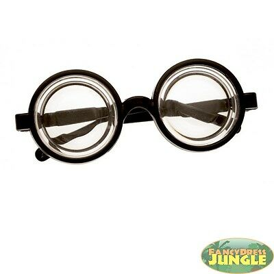 BOTTLE BOTTOMS FUNNY EYES GEEK NERD GLASSES SPECS -novelty fancy dress accessory